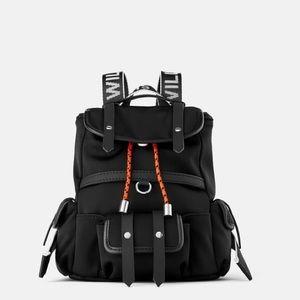 Zara You Will Not Regret Mini Nylon Backpack